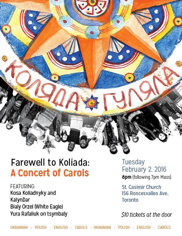 koliada farewell 2016